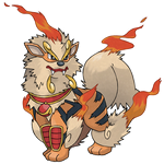 Mega Arcanine (FAN-MADE) by pokeluka