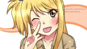 Lucy Heartfilia Colored by xxDaisuki-Koixx