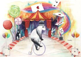 Magic circus by vanessa-lim