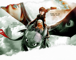 Chapter -  How to train your dragon by aidakuku