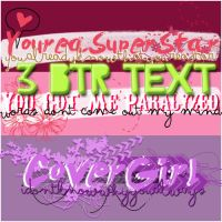 Big Time Rush Elevate Text PNG by DivasWorld