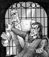 Frankenstein and The Vampyre by herrenmedia