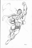 Recent Superman Commission by EdMcGuinness