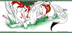 Okami Amaterasu by Dezfezable