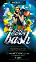 Easter Bash Party Flyer by caniseeu