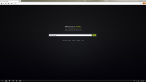 Homepage for Browser by Lusitan