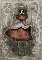Skeleton Princess by CottonValent