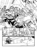 dredd page 1 by Neil-Googe