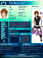 YJ SGPA Character profile/ The Black Cat by Enthaga
