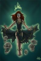 LOTR: The cadaver queen by LaDarkA117