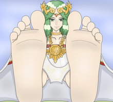 Palutena by Light-Bulb-Fiend