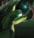 Wolf Link by NicoTheMintyRabbit
