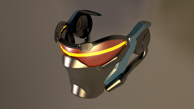 Soldier 76 Overwatch Mask 4 by GexANIMATOR