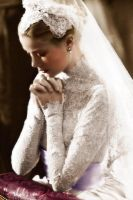 Newly-wed Grace Kelly by xSixty-3ight