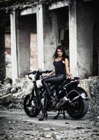 Kala and V-Max 05 by uniqueProject