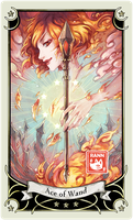 ::Tarot-Minor Arcana-Ace of Wand:: by rann-poisoncage