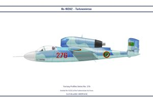 Fantasy 276 He162 Turkmenistan by WS-Clave