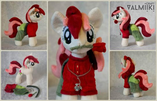 Plush Roseluck 10 inch with accessories by Valmiiki