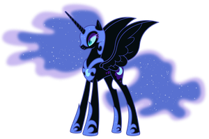 Night Mare Moon For synder159zero by ganz13676