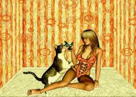 A New Playmate by VisualPoetress
