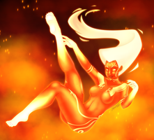 Smite - Sol, Goddess of the Sun by Otakatt