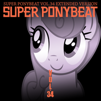 Super Ponybeat Vol. 034 Mock Cover by TheAuthorGl1m0