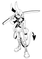 Oni lines by DroseAttack