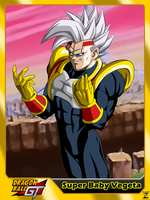 (Dragon Ball GT) Super Baby Vegeta by el-maky-z
