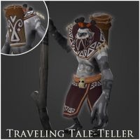 Traveling Tale-Teller by nullf