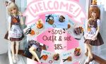 Happy welcome at our maid cafe by Miema-Dollhouse