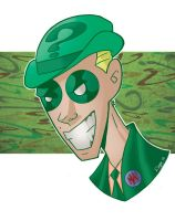 The Riddler by Salvador-Raga