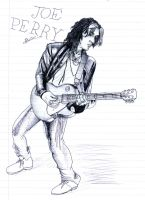 Joe Perry sketch by deanfenechanimations