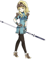[COLLAB] Fire Emblem - Clair by Call-Of-The-Indie