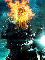 Ghost Rider // Adobe Photoshop Practice by Sonic-Sun