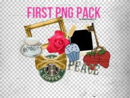 1st PNG PACK by allmythoughts