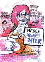Nancy Steals Milk by mattrobinson