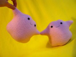 Ditto Pokemon Plush FOR SALE by chu-po-po