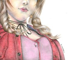 Aerith by diana-scribbles