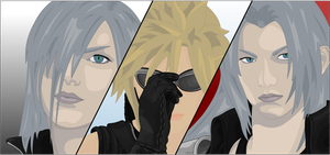 The Advent Children by moonmanz
