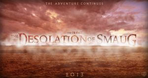 The Hobbit Desolation of Smaug BANNER POSTER by Umbridge1986
