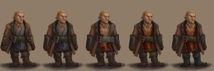 Varric Evolution by AgarthanGuide