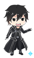 SAO: Kirito by blossomingdeath