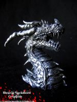 Dragon detailed sculpt by Hidden-Treasury