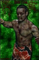 Zombie John Cena by MarvelousMark