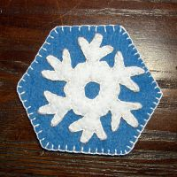 Snowflake Magnet - prototype by UrsulaPatch