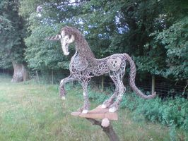 unicorn by fenellasculpture