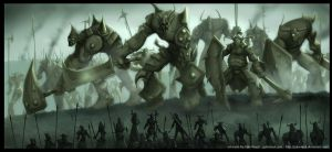 Colossus Orc-Ogres by gulavisual