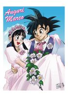 DragonBall Wedding by DarkKnight81