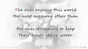 The ones enjoing this world the most.. Quote #1 by Nana-pii