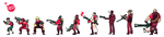 TF2 Pixel: The Round Up by UltraBananaBuddy